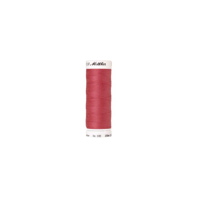 Fil polyester Mettler 200m Couleur n°1411 Litchi