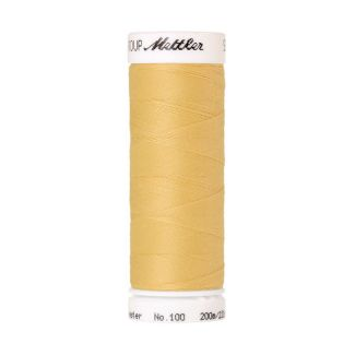 Mettler Polyester Sewing Thread (200m) Color #1454 Banana Peel