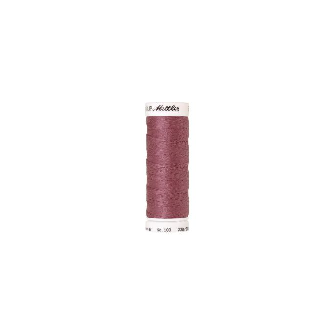 Mettler Polyester Sewing Thread (200m) Color 1460 Light Rosewoo