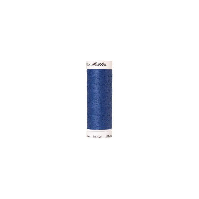 Fil polyester Mettler 200m Couleur n°1464 Bleu Tufts