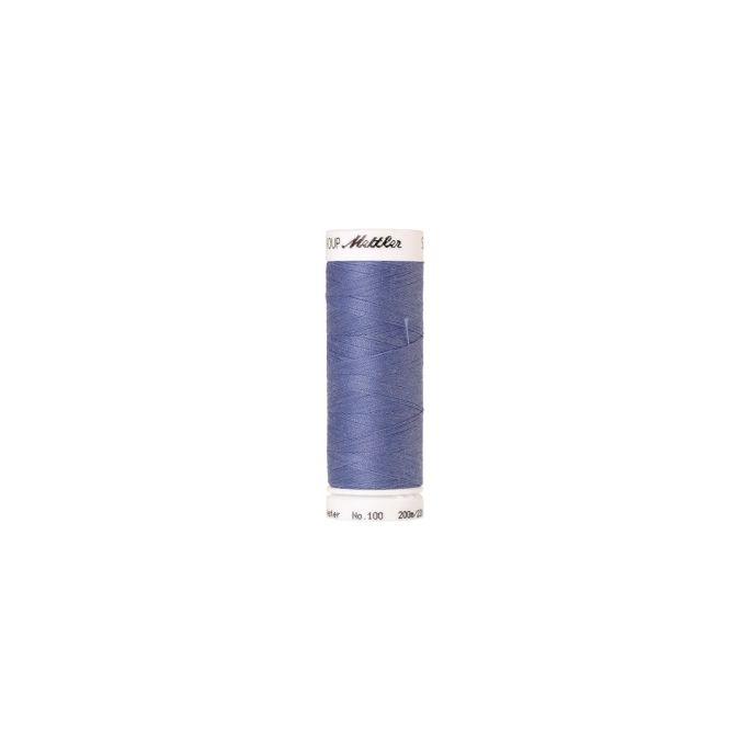 Fil polyester Mettler 200m Couleur n°1466 Bleu Cadet