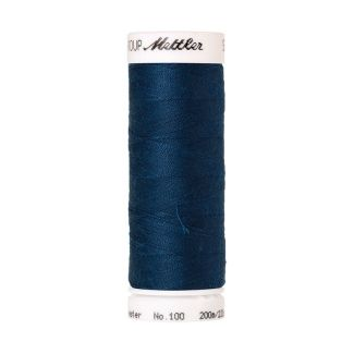 Mettler Polyester Sewing Thread (200m) Color #1471 Deep Ocean