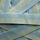 FOE 1 inch Print Yellow daisies on blue (1m)
