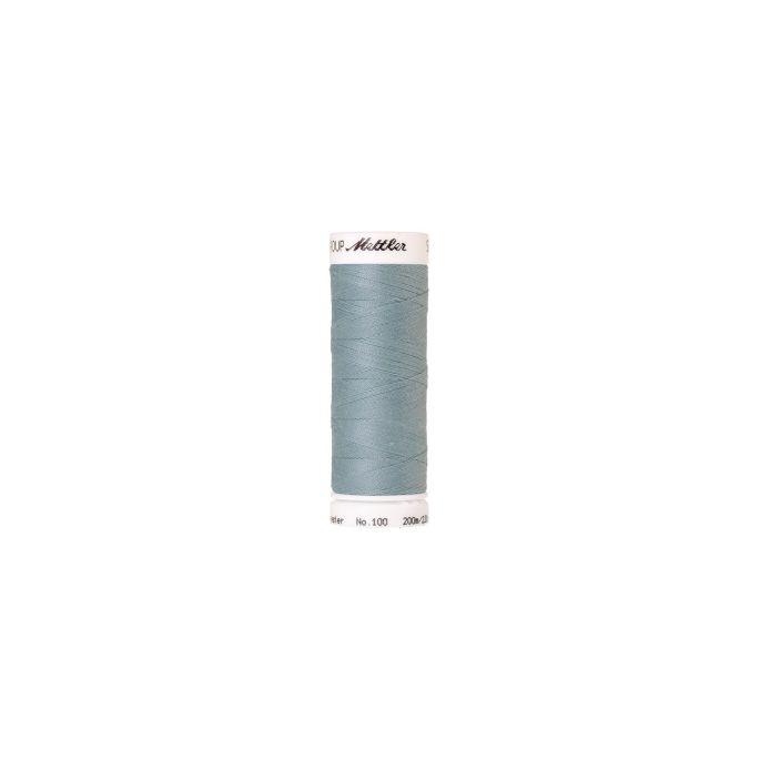 Fil polyester Mettler 200m Couleur n°0020 Mer Agitée