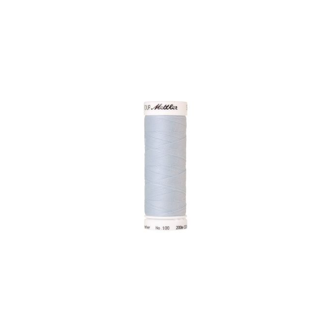 Mettler Polyester Sewing Thread (200m) Color 0023 Hint of Blue