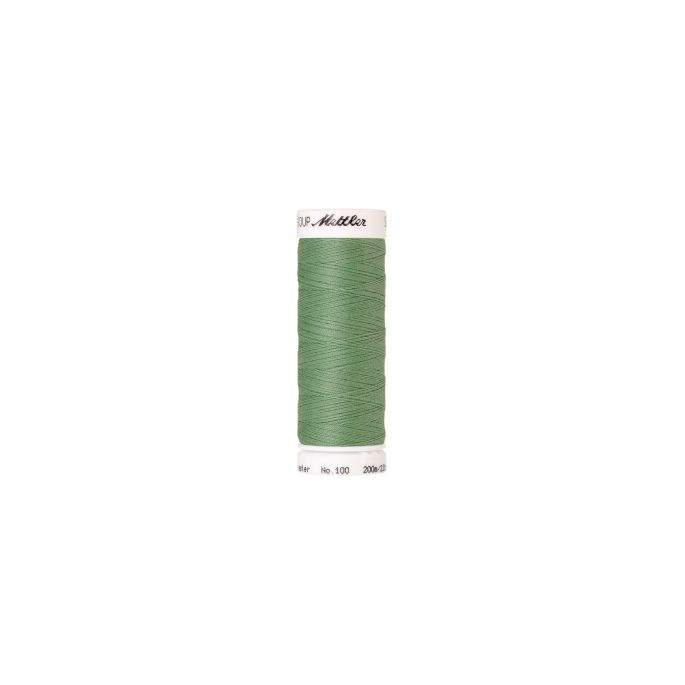 Fil polyester Mettler 200m Couleur n°0219 Menthe Givrée
