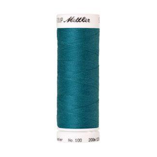 Fil polyester Mettler 200m Couleur n°0232 Bleu Canard
