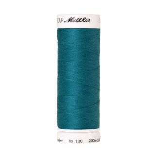 Mettler Polyester Sewing Thread (200m) Color #0232 Truly Teal