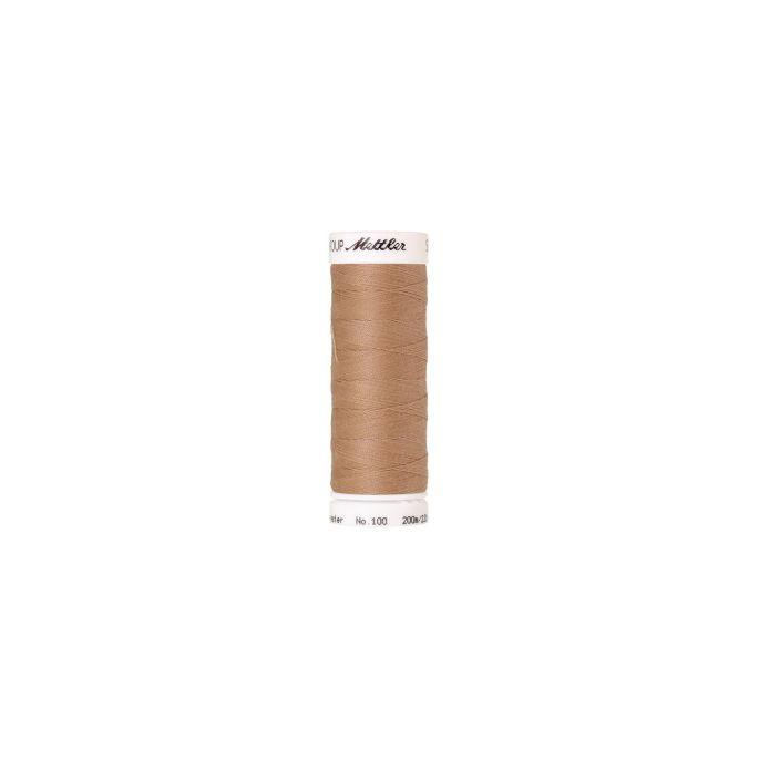 Fil polyester Mettler 200m Couleur n°0260 Avoine