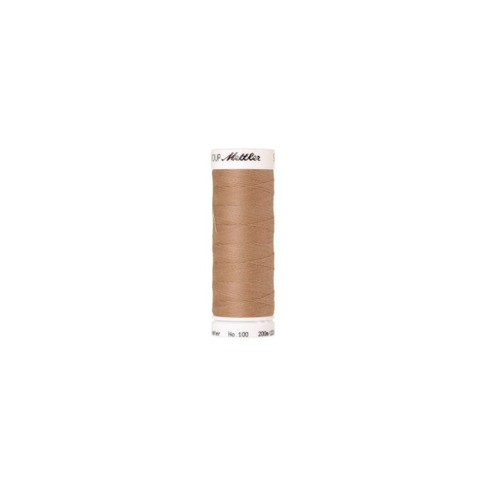 Mettler Polyester Sewing Thread (200m) Color 0260 Oat Straw