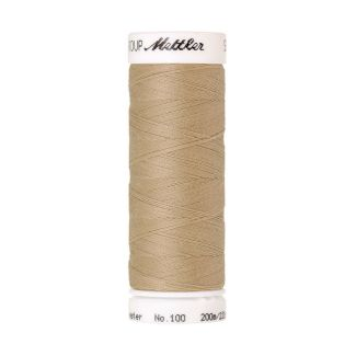 Fil polyester Mettler 200m Couleur n°0265 Ivoire