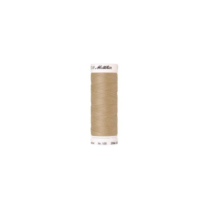 Fil polyester Mettler 200m Couleur n°0265 Ivoire