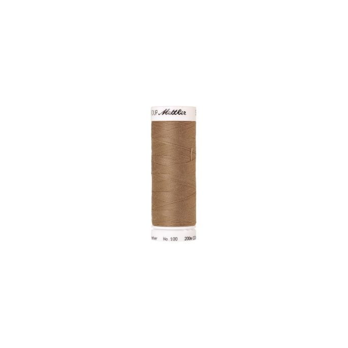 Mettler Polyester Sewing Thread (200m) Color 0267 Dark Rattan