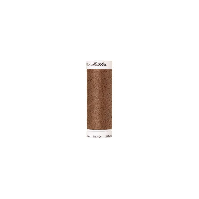 Fil polyester Mettler 200m Couleur n°0280 Noix