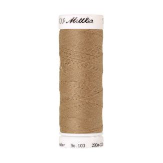 Mettler Polyester Sewing Thread (200m) Color #0285 Caramel Cream