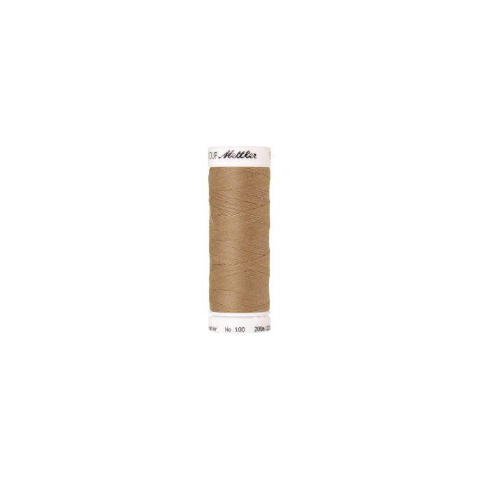 Fil polyester Mettler 200m Couleur n°0285 Crème Caramel