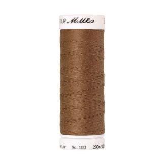 Mettler Polyester Sewing Thread (200m) Color #0287 Dark Tan