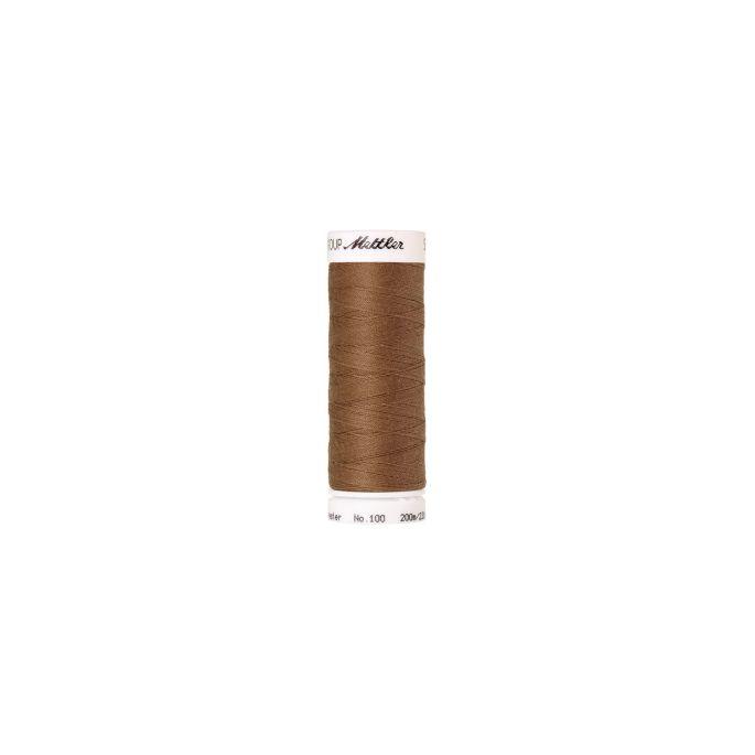 Fil polyester Mettler 200m Couleur n°0287 Brun