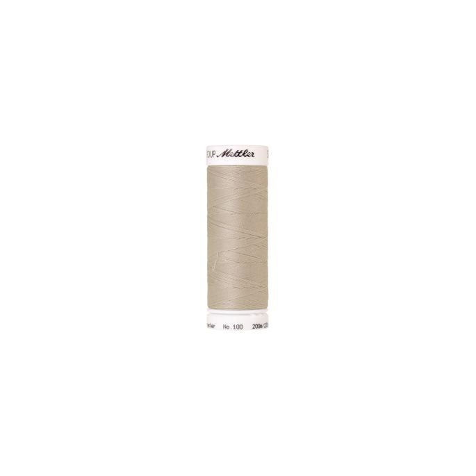 Fil polyester Mettler 200m Couleur n°0327 Coquille