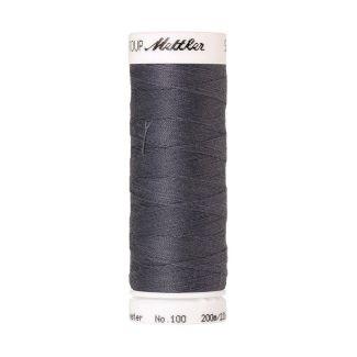 Fil polyester Mettler 200m Couleur n°0343 Gris