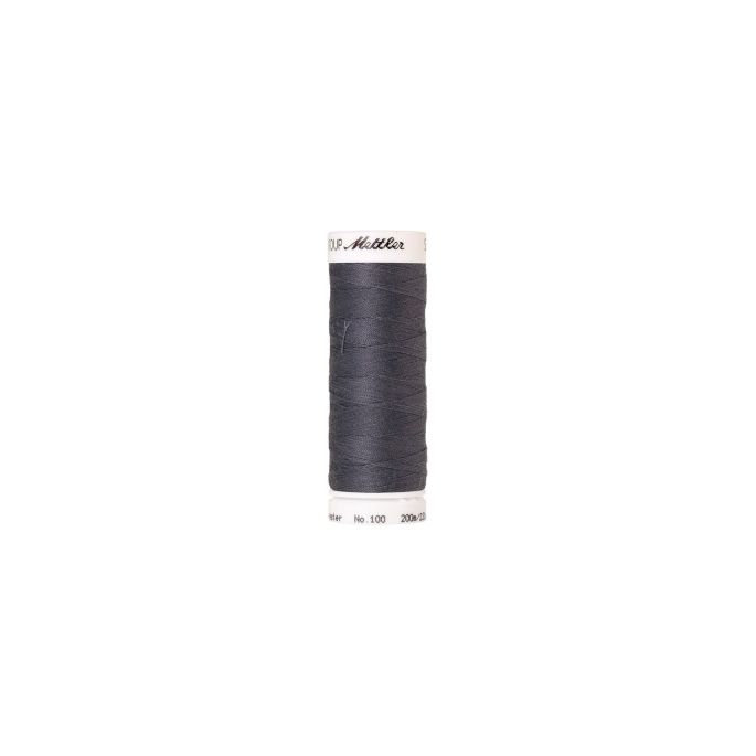 Mettler Polyester Sewing Thread (200m) Color 0343 Dimgray