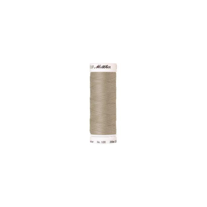 Fil polyester Mettler 200m Couleur n°0372 Beige
