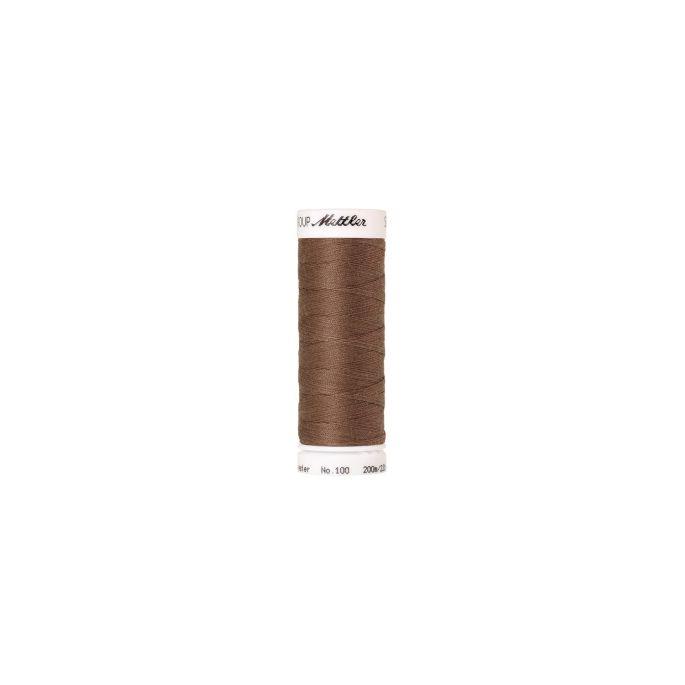 Fil polyester Mettler 200m Couleur n°0387 Champignon