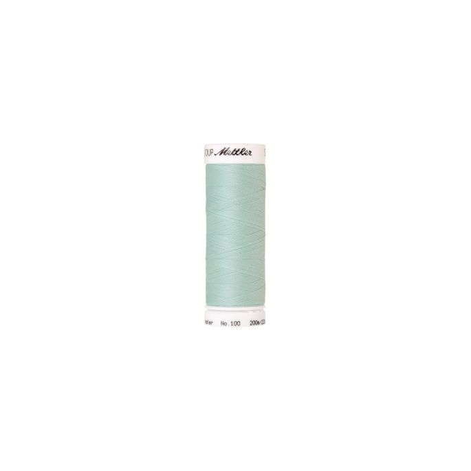 Fil polyester Mettler 200m Couleur n°0406 Océan Mystique
