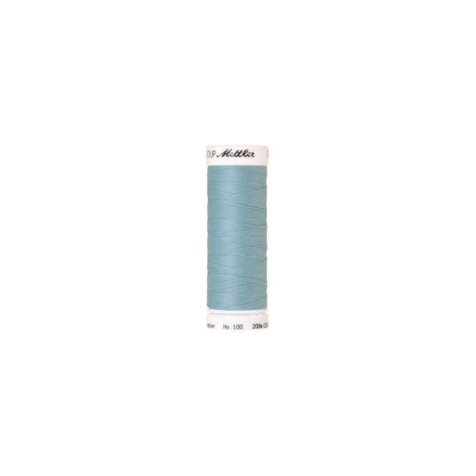 Fil polyester Mettler 200m Couleur n°0407 Menthe Bleue