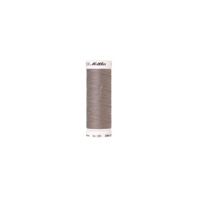 Fil polyester Mettler 200m Couleur n°0413 Gris Titane