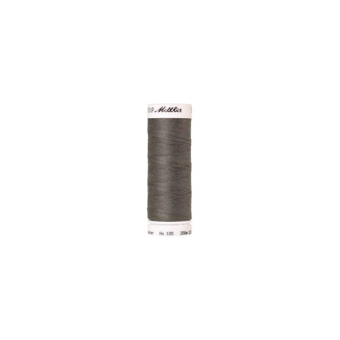 Fil polyester Mettler 200m Couleur n°0414 Gris Navajo