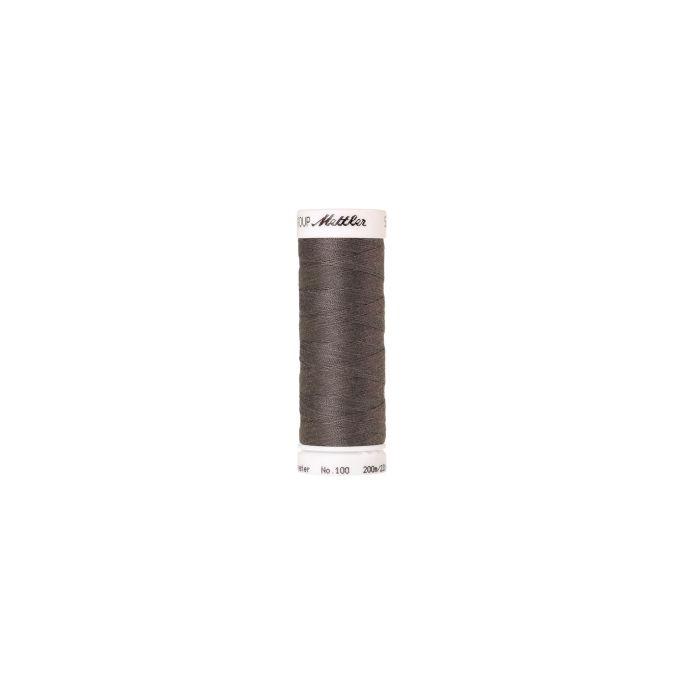 Fil polyester Mettler 200m Couleur n°0415 Tôle