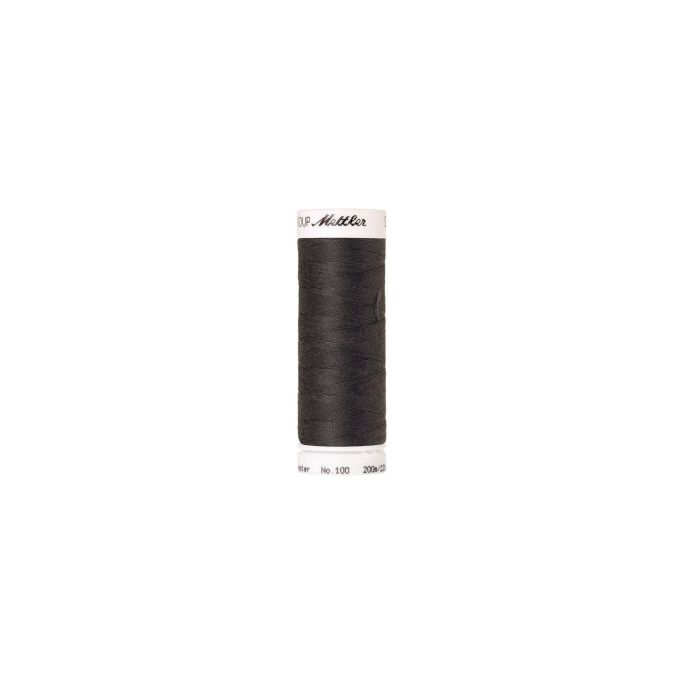 Mettler Polyester Sewing Thread (200m) Color 0416 Dark Charcoal