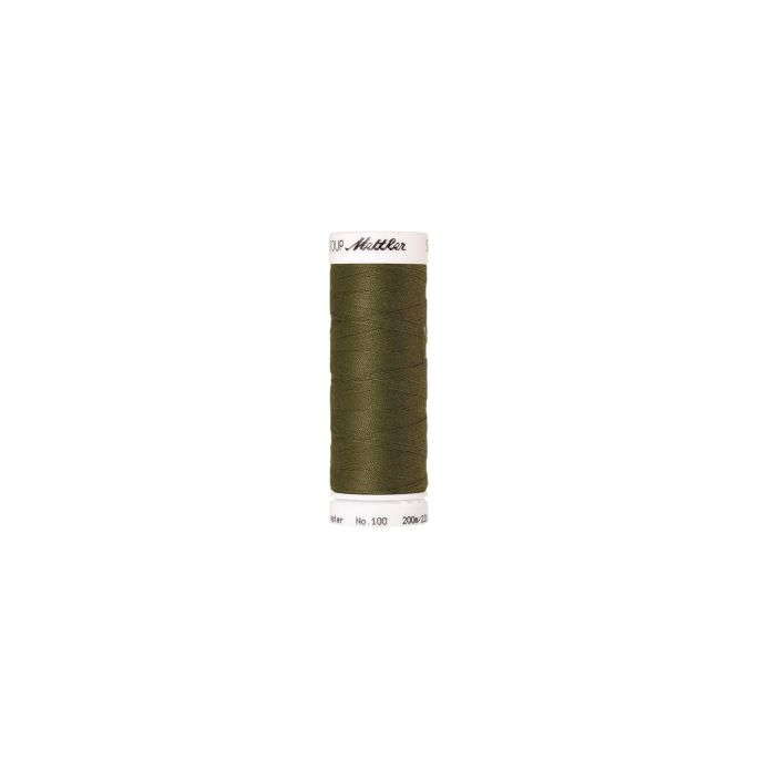 Mettler Polyester Sewing Thread (200m) Color 0420 Olive Drab