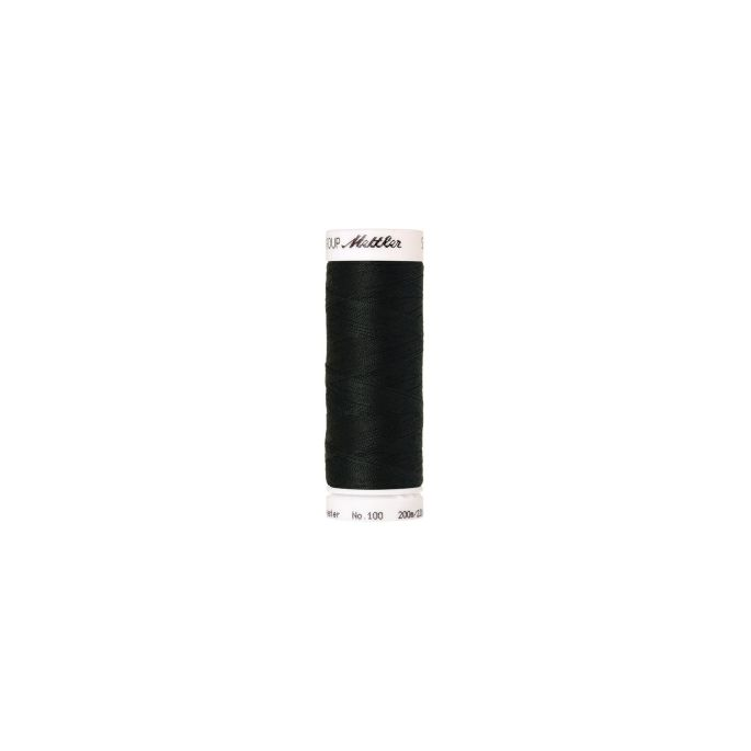 Fil polyester Mettler 200m Couleur n°0425 Bouteille Foncée