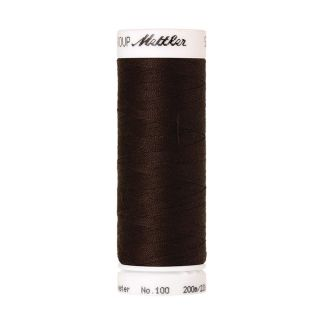 Mettler Polyester Sewing Thread (200m) Color #0428 Chocolate