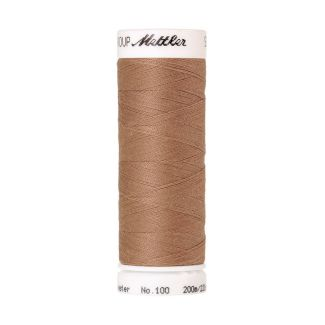 Fil polyester Mettler 200m Couleur n°0512 Taupe