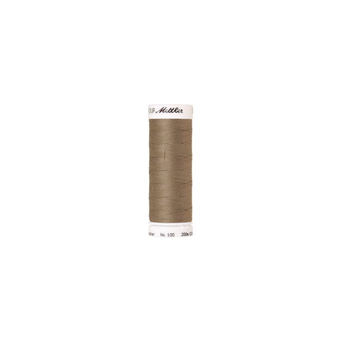 Mettler Polyester Sewing Thread (200m) Color 0530 Dried Sea Gra