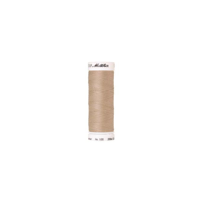 Fil polyester Mettler 200m Couleur n°0537 Flocon d'Avoine