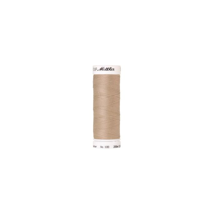 Mettler Polyester Sewing Thread (200m) Color 0537 Oat Flakes