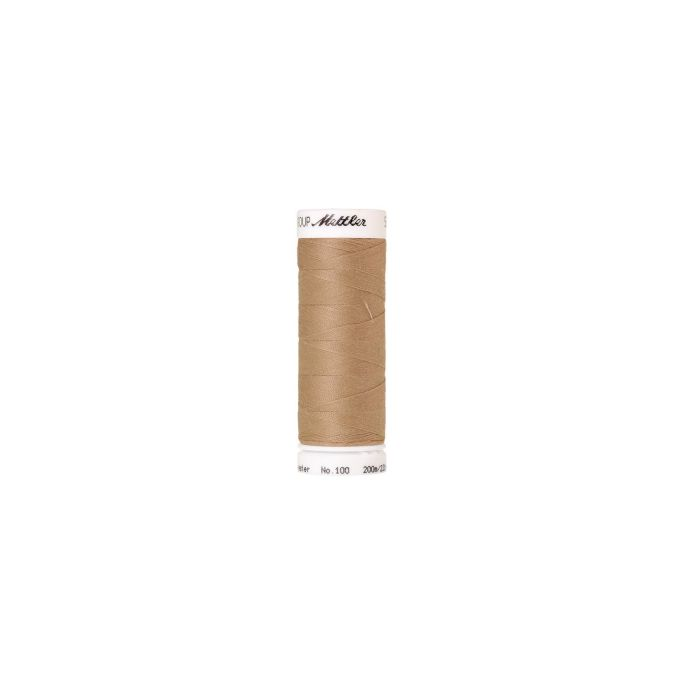 Fil polyester Mettler 200m Couleur n°0538 Paille