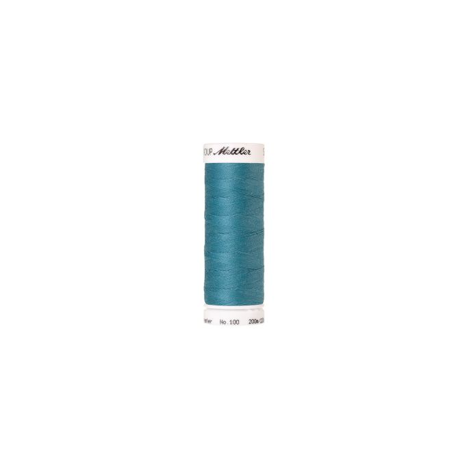 Mettler Polyester Sewing Thread (200m) Color 0722 Glacier Blue