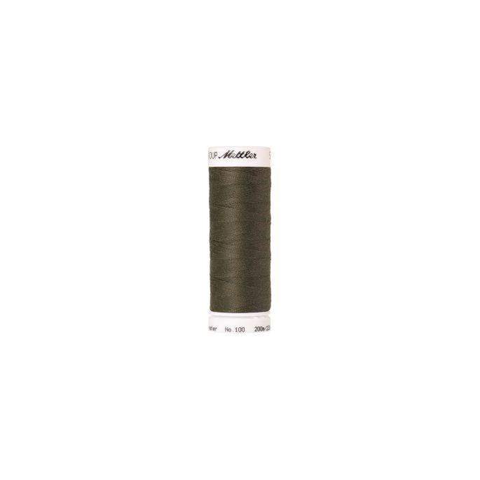 Fil polyester Mettler 200m Couleur n°0732 Câpre Foncé