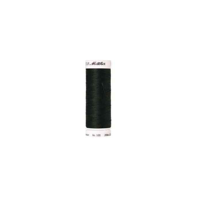 Fil polyester Mettler 200m Couleur n°0846 Forêt Enchantée
