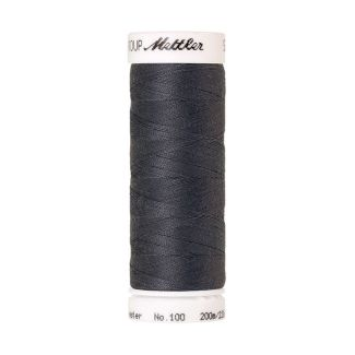 Fil polyester Mettler 200m Couleur n°0878 Gris Souris
