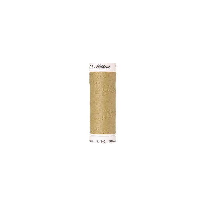 Fil polyester Mettler 200m Couleur n°0890 Blé
