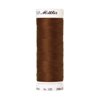 Fil polyester Mettler 200m Couleur n°0900 Cacao