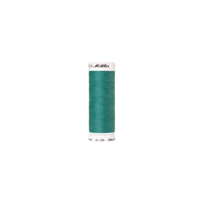 Fil polyester Mettler 200m Couleur n°1091 Eau Profonde