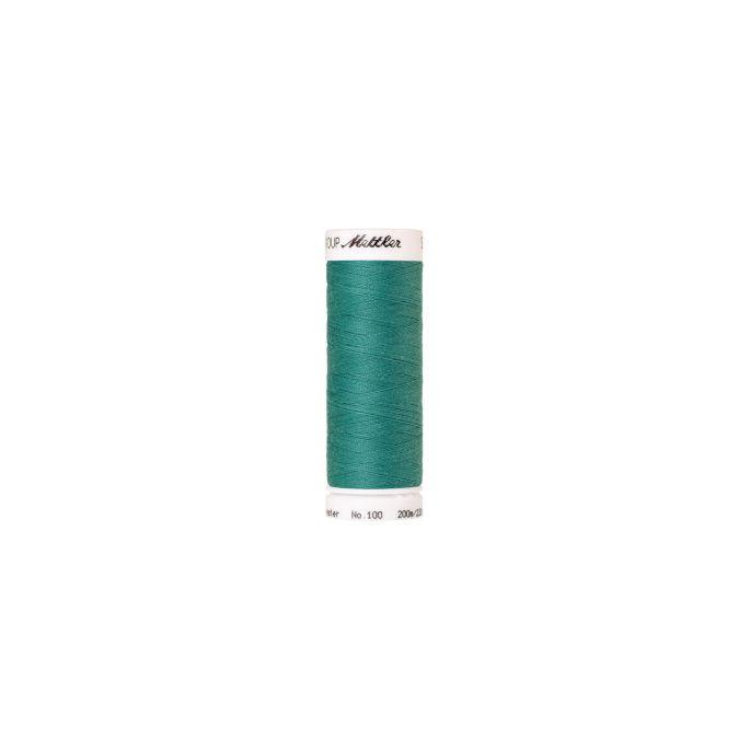 Mettler Polyester Sewing Thread (200m) Color 1091 Deep Aqua