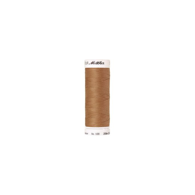 Mettler Polyester Sewing Thread (200m) Color 1121 Toffee